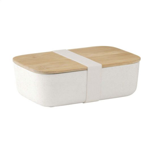 Eco Bamboe Lunchbox Retulp Wit